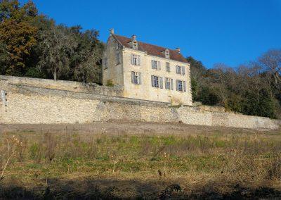 Pierre sèche à La Roque Gageac