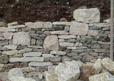 Pierres sèches à Siorac en Périgord