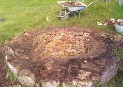 Pierre sèche et maçonnerie à Sainte Alvère