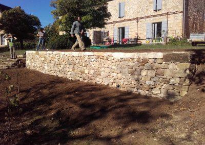 Stage tout public construction d'un mur en pierre sèche à Vitrac