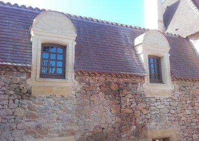Taille de pierre et maçonnerie à Calès 2017